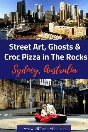 If you're planning a trip to Sydney, chances are you'll spend some time in The Rocks. But what cool things are there to do there? Check out our Local's Guide to the best quirky things to eat in the Rocks, see in The Rocks and do in The Rocks. #therocks #sydney #thingstodoinsydney