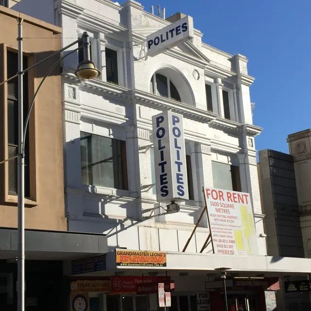 One of hte unusual things to see in Adelaide are the Polites signs the appear eveywhere. Here's why.