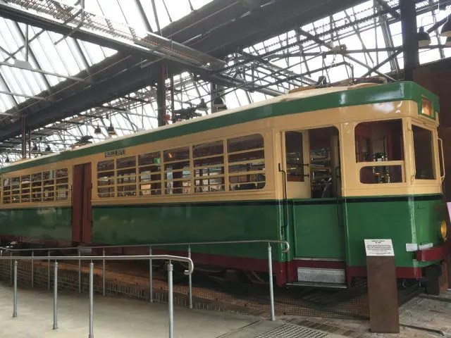 Fancy a drink in an old tram. You can find one in the Tramsheds in Harold Park Sydney