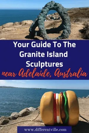 Granite Island is South Australia is a short drive from Adelaide. Best known for it;'s little pneguins and other wildlife it;s now also home to a fantastic sculpture trail. Here's what you need to know to visit. Click to read it now or save it to one of your boards for later. #graniteisland #graniteislandsculptures #australianart #thingstodoinsouthaustralia