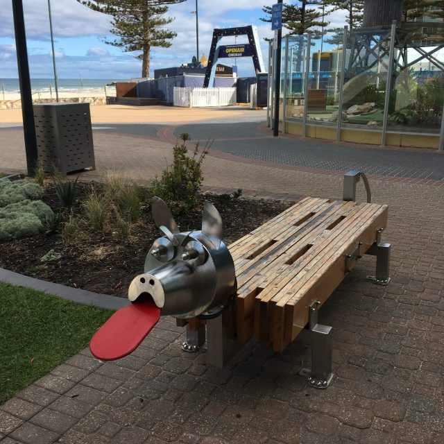 The beachside suburb of Glenelg makes a great day out from Adelaide