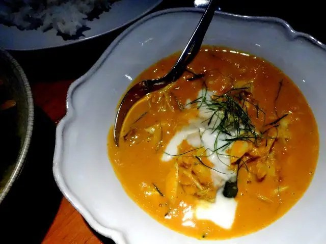 The Blue Swimmer Crab curry at Nahm is amazing. Add it to your list of places to eat in Bangkok.