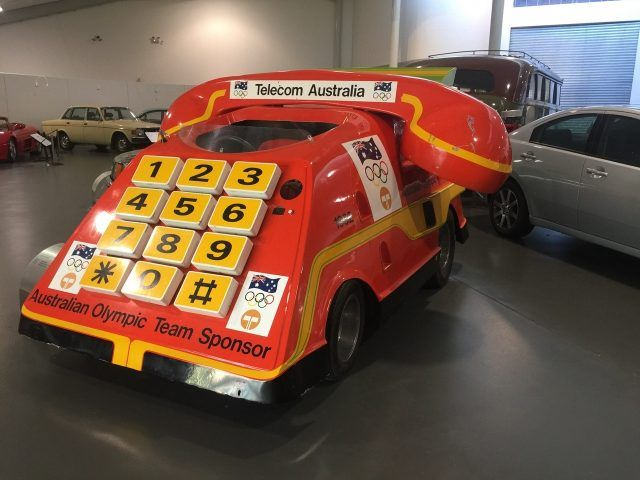 This telephone car is just one of the exhibits at the National Motor Museum in Birdwood, South Australia. A great day out from Adelaide.