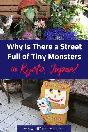 If you're looking for something different to do in Kyoto, we have found it. Go monster hunting. Known as Kyoto Yokai Street, It's just as steeped in history as Kyoto's temples - but a lot less crowded! #kyoto #thingstodoinkyoto #kyotomonsterstreet #yokai