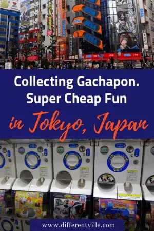 Gachapon machines are all over Tokyo and if you want a budget 'only in Japan;' experience, they're a great place to find it. Here;s everything you need to know about Gachpon - including what is Gachapon, how much does it cost and where to find Tokyo's best Gachapon machines. #tokyo #thingstodointokyo #gachapon