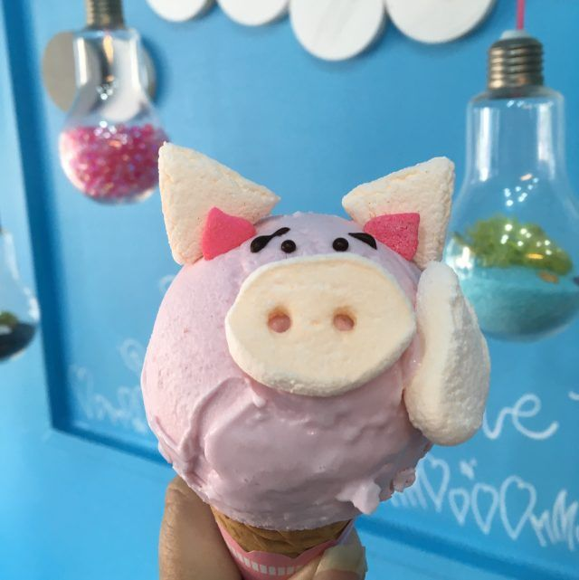 The Zoo ice cream parlour sells ice creams that look like animals in Tokyo's Harajuku. Definitely one of the most kawaiii things to do in Tokyo.