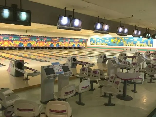 A Hot Springs Hotel Japan offers a lot of onsite  entertainment over and above the onsen - ours had a bowling alley.
