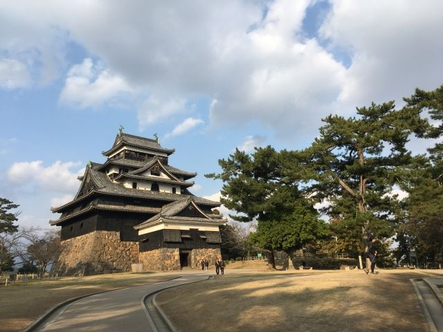 Matsue Castle in Matsue, Japan - one of the few castle towers left in the country.