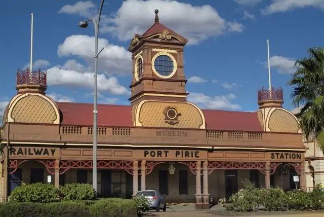 Port Pirie Railway Station