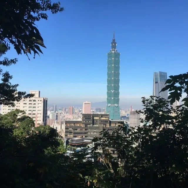 Picture of Taipei 101 from Elephant Mountain, one the things to do near Taipei 101
