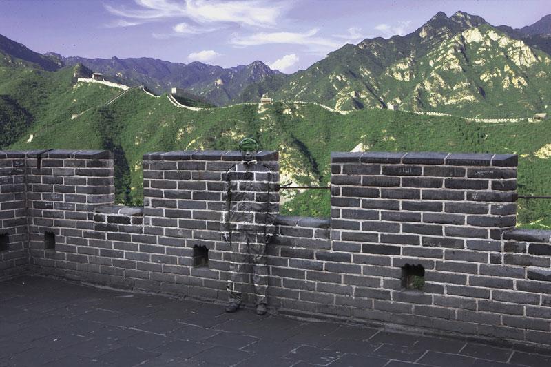 2013 02 25 Liu  Bolin Great Wall