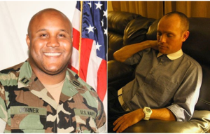 Chris Dorner is on the left. David Perdu, whose truck was rammed and then shot, is on the right. It's easy to see how the two could be confused for each other. They are practically twins.
