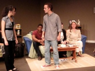 ASU's Binary Theatre Company's production of A Roof Overhead, October 2012