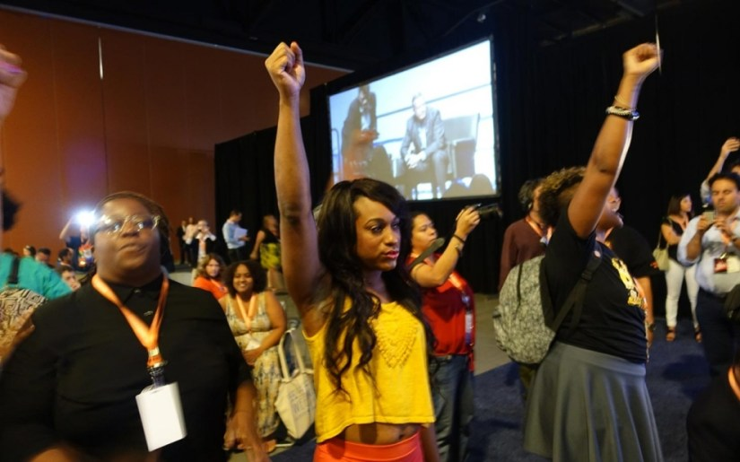 850 - Netroots Nation Protesters