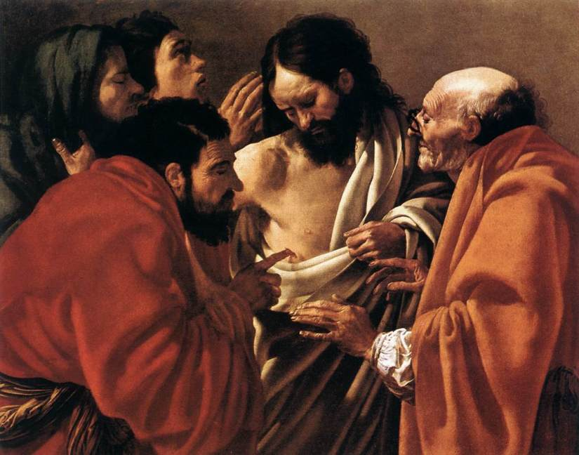 776 - Hendrick ter Brugghen - The Incredulity of Saint Thomas