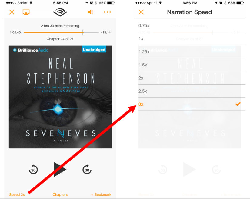 """It says """"Speed 3x,"""" but it lies. It is only double-speed."""
