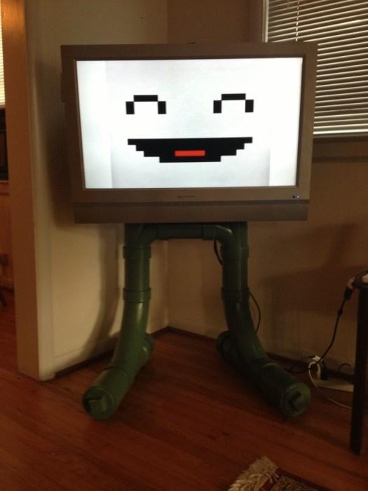 PVC TV Stand