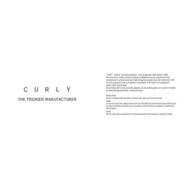 CURLY 2018 SPRING&SUMMER | 2018.04.13. Delivery Item.