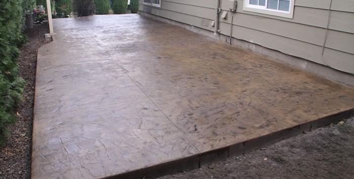 stamped concrete patio contractor