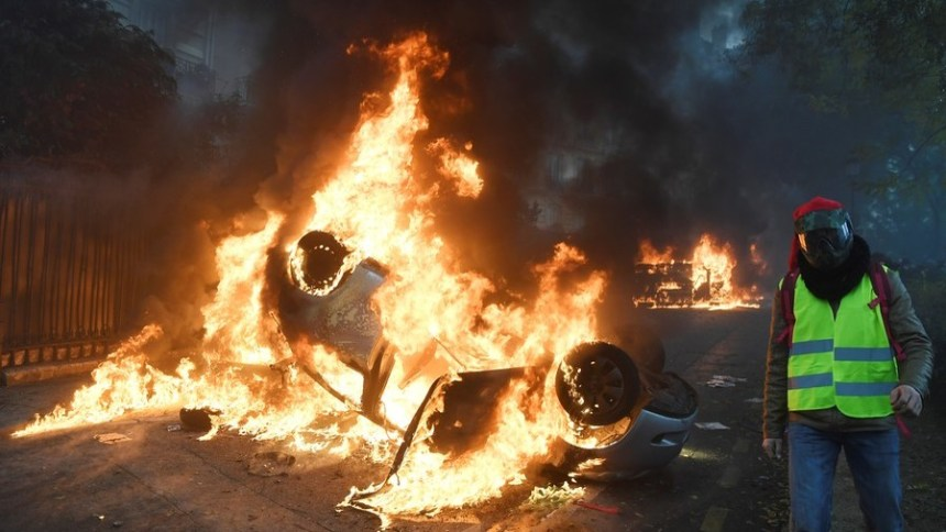 g 56 - 28 imágenes que muestran el drama de las protestas en Francia