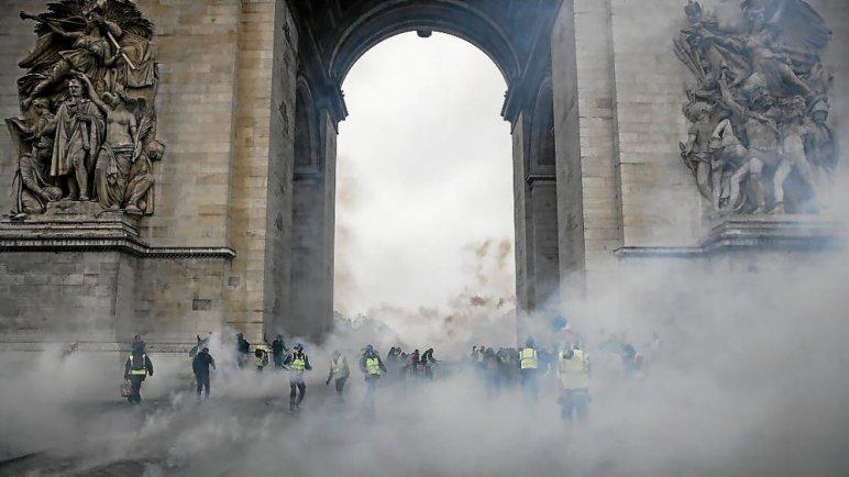 k 48 - 28 imágenes que muestran el drama de las protestas en Francia