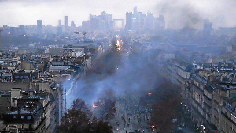 za 10 - 28 imágenes que muestran el drama de las protestas en Francia