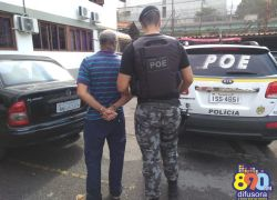 Homem é preso com crack no bairro Eucaliptos em Bento