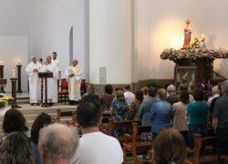 Paróquia de Pinto Bandeira celebra missa preparatória a Romaria Votiva de Caravaggio