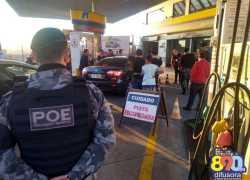 Após denúncia Procon fiscaliza posto e princípio de tumulto é registrado em Bento