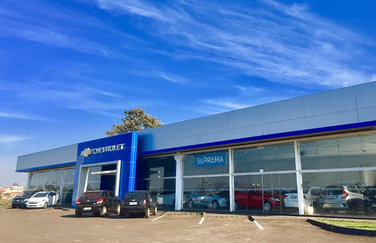 """Suprema Veículos recebe prêmio de concessionária """"Classe A"""" da General Motors do Brasil"""