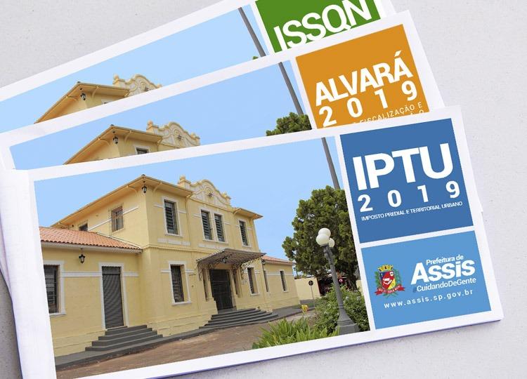 IPTU, ISS e Alvará já estão disponíveis para impressão no Portal da Prefeitura