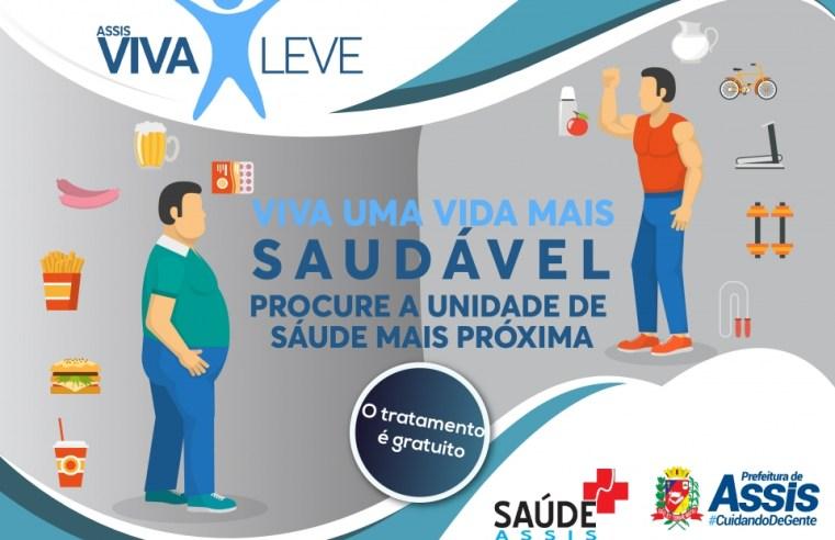 Projeto nutricional 'Viva Leve' da Secretaria de Saúde quer atingir mais bairros neste ano