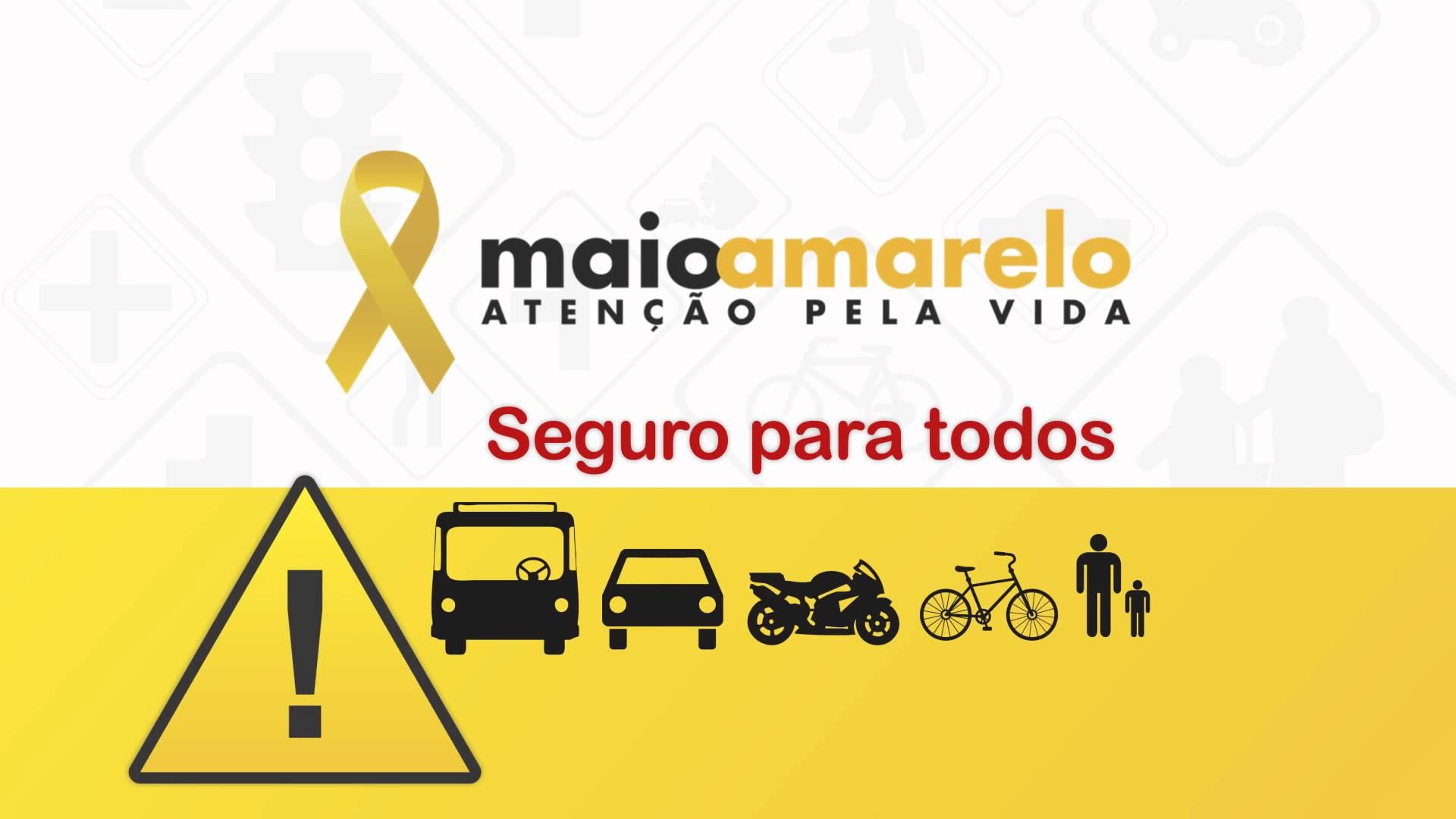 Começa a campanha 'Maio Amarelo' para reduzir mortes no trânsito na região