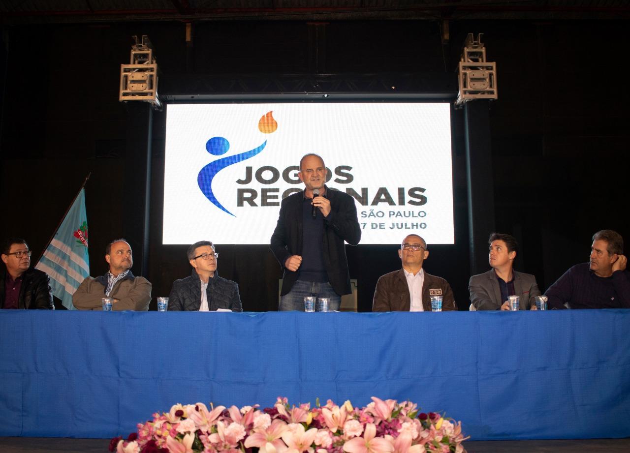 Começam os Jogos Regionais com a participação de 60 cidades em diversas modalidades