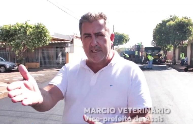 Vice-prefeito, 'Marcio Veterinário', estará nesta semana em Brasília em busca de recursos para a área da saúde