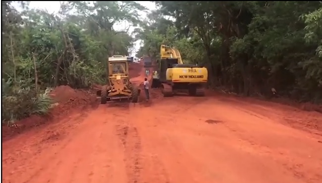 Prefeitura intensifica manutenção de estradas rurais e inicia obras na 'Água da Fortuna'