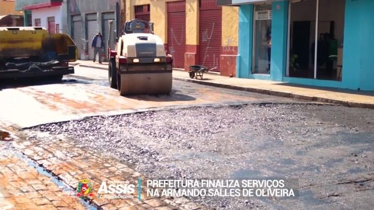 Com pequena trégua da chuva, Prefeitura avança com o cronograma do Programa 'Asfalto para Todos'