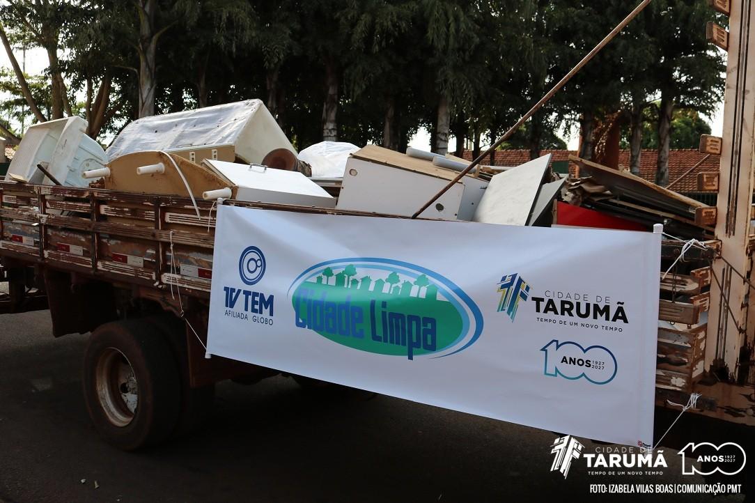 Prefeitura de Tarumã anuncia 'Mutirão de Limpeza' para o início de Março