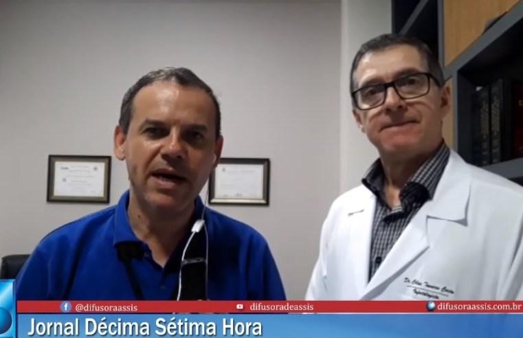 """""""Não é hora para pânico"""", diz infectologista Cilas Tavares Costa sobre o coronavirus"""