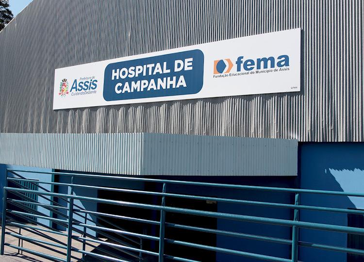 Prefeito José Fernandes determina prestação de contas online do Hospital de Campanha para acompanhamento público