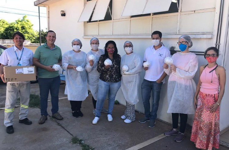 Energisa doa máscaras para Secretaria da Saúde