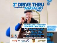 Sábado, 6, tem Drive Thru de doação de agasalho no Tiro de Guerra