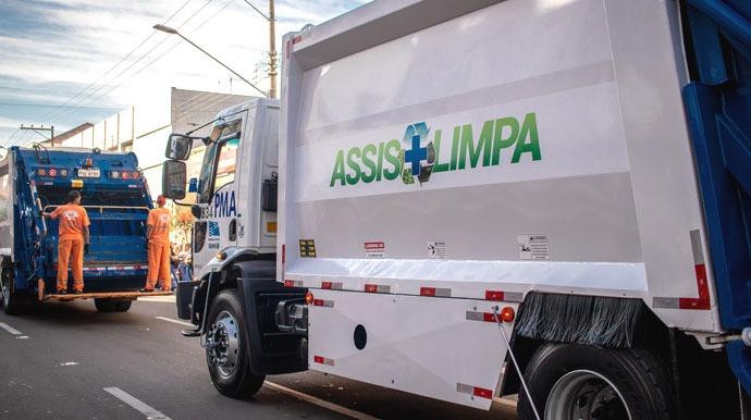 Coleta de lixo domiciliar é realizada diariamente em todos os bairros no período da manhã