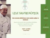 CEDET promove live gastronômica nesta terça