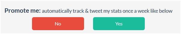 Crowdfire kann erstellte Statistiken an die eigenen Follower versenden: ein schöner Buzz für den Anwender und die App-Entwickler selbst.