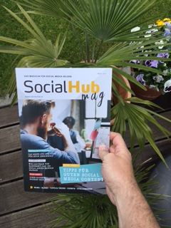 "Das neue SocialHub Magazin - Corporate Publishing für ""Social Media Helden"""