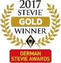 German Stevie Awards 2017 - Gold Winner Logo