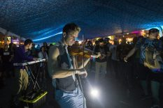 A New Thousand created some extraordinary vibes in the Buku tent during the during the BUKU Music and Arts Festival on March 11, 2017.