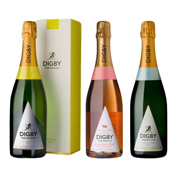 The Digby Collection bottles