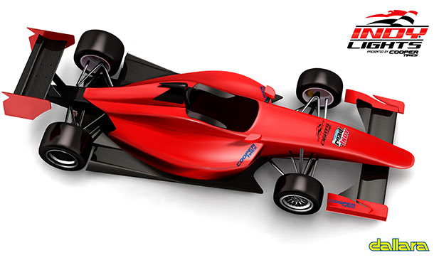 Indy Lights Chassis Renderings